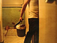 you're always leaving me behind (Brooke Golightly) Tags: portrait woman man ice hotel blood heart getty bathtub icebucket yourealwaysleavingmebehind