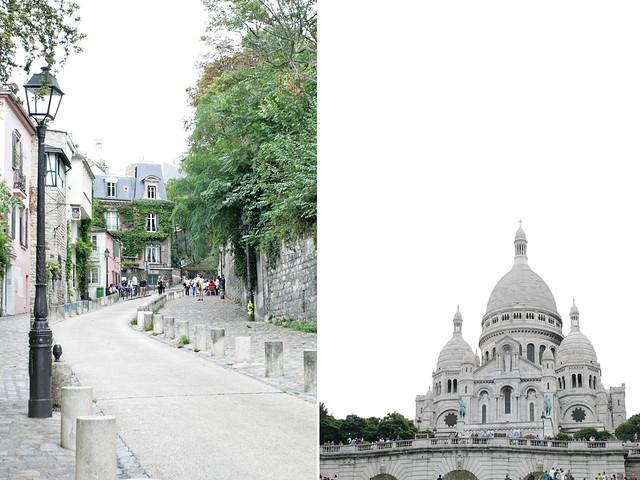 old town + sacré coeur