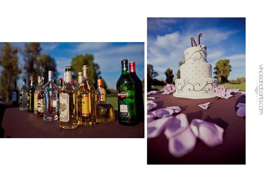 reception cake liquor