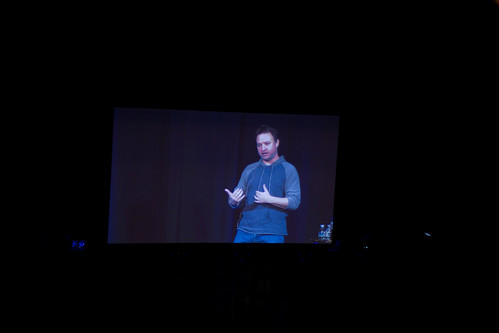 David Jaffe delivers his keynote