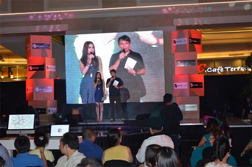 Beyond The Box launch with hosts Janeena Chan and Elbert Cuenca - photo from their Facebook page