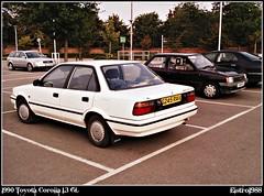 Modified Toyota Corolla 1990 1990 Toyota Corolla 1 3 gl