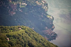 Home With a View (from Monte Boglia, Switzerland) (jpaulus) Tags: lake water town village lugano hamlet d700