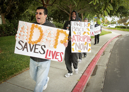 AIDS Drug Pricing Protest