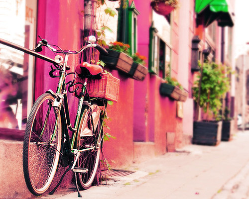 Pink Dreamy Ride Photography Print by magnesina
