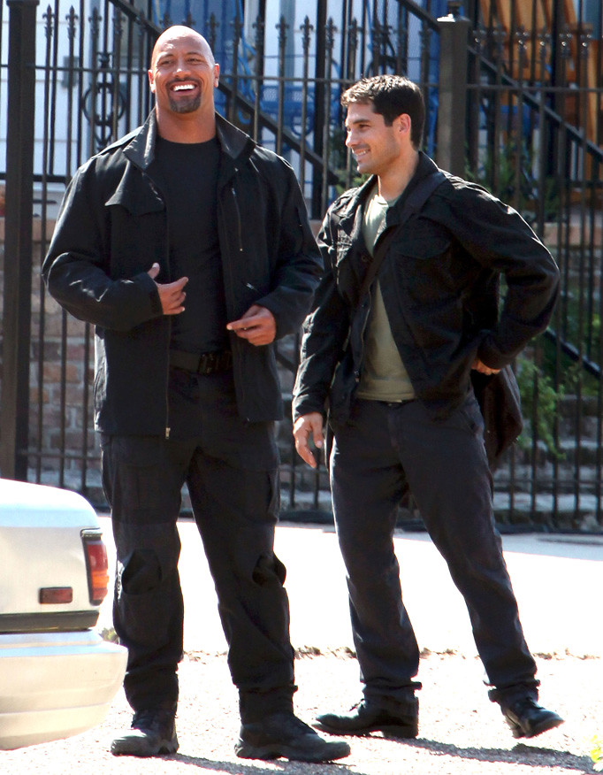 EXCLUSIVE: Stars On The Set Of 'G.I. Joe 2: Retaliation' In New Orleans