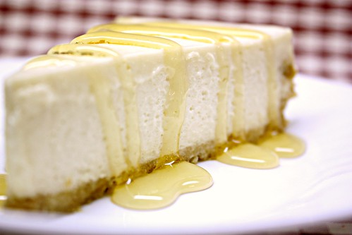 No- Bake Bal Yoğurt Cheesecake