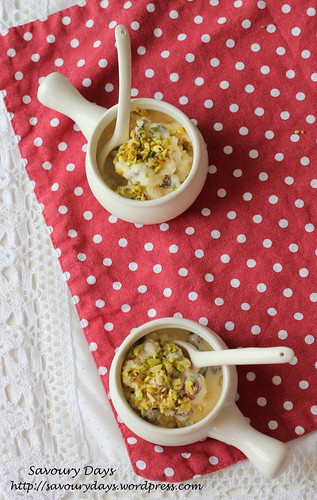 Frozen passion fruit yogurt