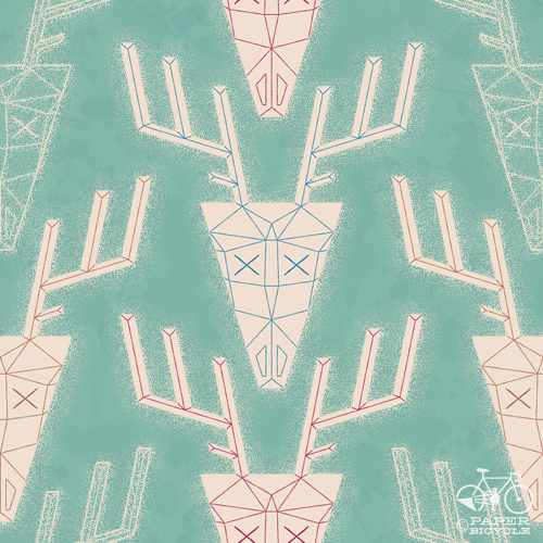 chrishajny_deer_pattern