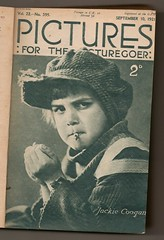 Pictures : For the Picturegoer 1921 (Pagan555) Tags: film smoking hollywood movies thetwenties moviestars fanmags filmstars childactors jackiecoogan moviemagazines the20s filmmagazines picturesforthepicturegoer