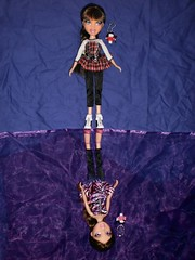 reflection in ice - Roxxi & Phoebe (TheDollLover) Tags: reflection ice photoshop twins doll dolls phoebe bratz roxxi twiins