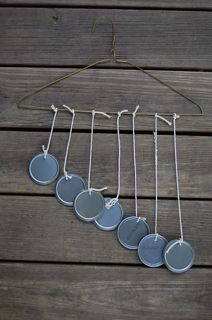 recycled wind chime
