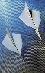 """Origami création - Didier Boursin - Avions """"concours aérien"""""""