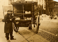 Daily Bread in the Irish Civil War (National Library of Ireland on The Commons) Tags: 1920s boy rifle turnovers 1922 loaves halligan breadvan nationallibraryofireland irishcivilwar wdhogan hogancollection batchloaves