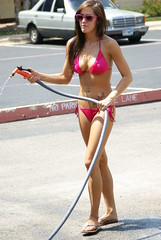 Bikini Car Wash at Twin Peaks