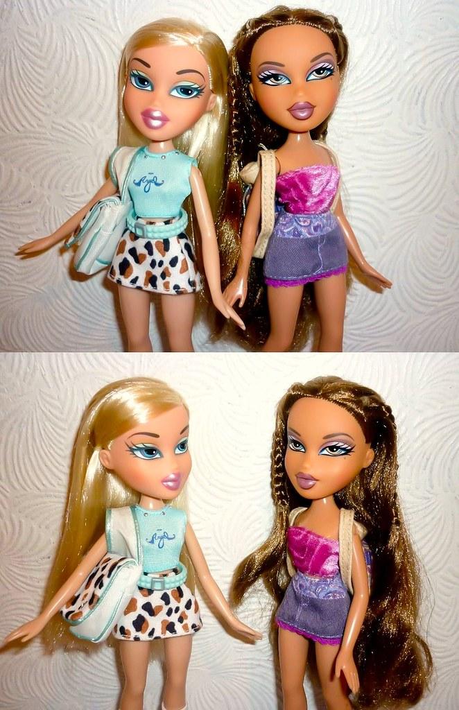 "Bratz 1st Ed Cloe & Yasmin + ""My Bratz Story"" tag"
