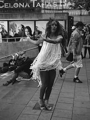 Dansande tjej