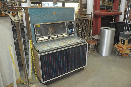 Juke Box at Community Forklift