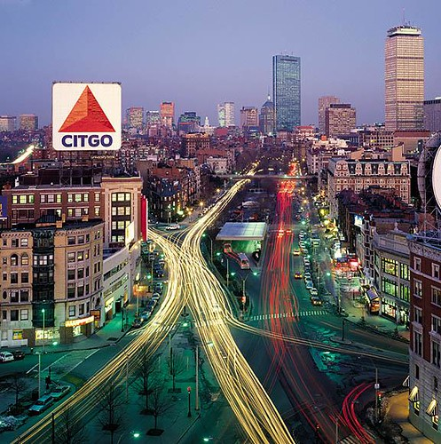 Kenmore Square - sometime in the 1990s