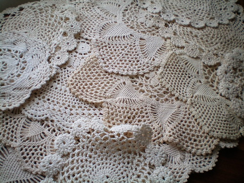 Thrifted Doilies