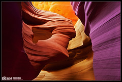 Antelope Canyon: Lady in the Wind (artograph) (Aaron M Photo) Tags: light arizona usa southwest lady underground landscape sand sandstone rocks unitedstates desert wind canyon page antelope redrocks lower navajo slot slotcanyon antelopecanyon lowerantelopecanyon ladyinthewind