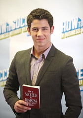 Photo: Nick Jonas at a press conference in NYC (8) (MiriamLastTimeAround...) Tags: portrait music usa newyork london fashion person hugging hug kissing unitedstates affection photos tx couples style sneakers pastry celebrities holdinghands fans lax script blondehair jonas signing halflength messengerbag loscabos coments deltagoodrem shoulderbag brownbag in brownsweater apollotheatre 1star studiosession glendalearizona coment floralprintskirt tanjacket selenagomez nickjonas joejonas demilovato justinbieber celebrities|music celebrities|music|one screenlandstudios