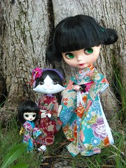 Zoe, Flora and Shaki