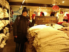 Aran Sweater girl in wool space (Mytwist) Tags: aran islands sweatermarket ireland jumper knitted wool wife love passion globetrotter design heritage old fisherman