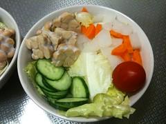 朝食サラダ(2011/9/9)