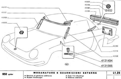 documents the fiat 850 project rh fiat850 com Fiat Parts Protective Undercarrage Fiat Parts Protective Undercarrage