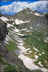 scarp ridge (aprilpix) Tags: snow mountains green landscape colorado butte crested aprilpix