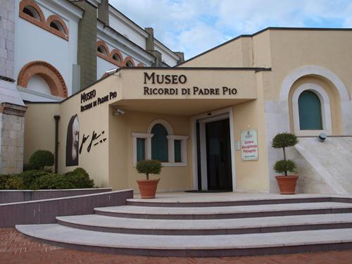 Museo del Convento de los padres capuchinos dedicado al Padre Pio