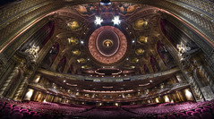 The Stage View at the Wang Theatre (Frank C. Grace (Trig Photography)) Tags: red art boston ma gold theater chinatown theatre pentax decorative stage massachusetts paintings performingarts newengland murals muse angels restored restoration ornate kellogg ultrawide metropolitan hdr 1925 k5 putto proscenium theatredistrict wangfamily photomatix tonemapped 816mm trigphotography clarenceblackall frankcgrace thremont maxshoolman
