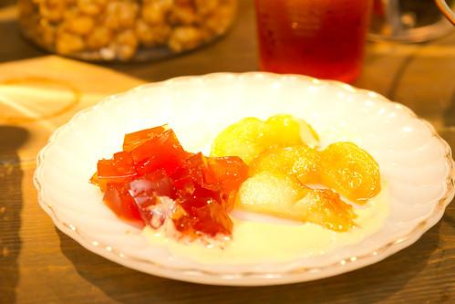 オイコメシ りんごのカラメル煮/紅茶ゼリー添え