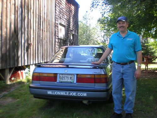 Million Mile Joe and his 1990 Honda Accord