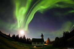 Celestial (skarpi - www.skarpi.is) Tags: moon church angel nationalpark heaven god fullmoon angels thingvellir þingvellir celestial kirkja pingvellir houseofgod þingvellirnationalpark þjóðgarður þjóðgarðurinn