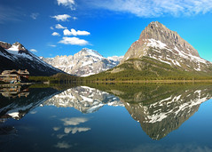 USA - Montana - Glacier National Park - Swiftcurrent Lake (Jim Strachan) Tags: glaciernationalpark swiftcurrentlake