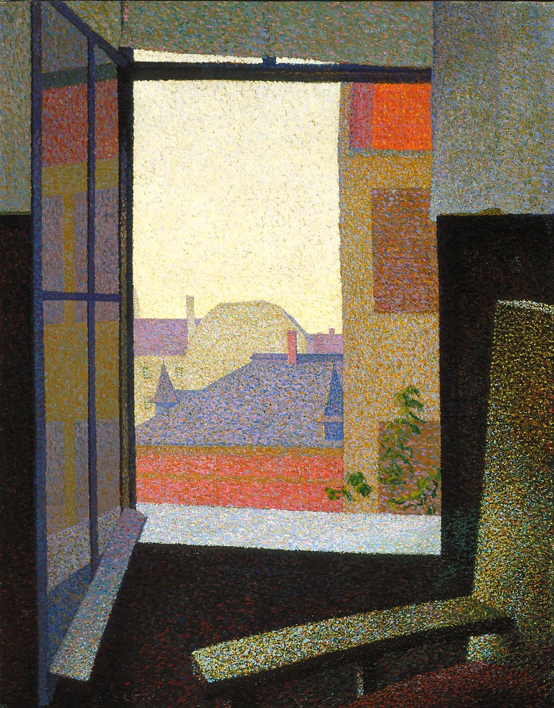 Segal, Arthur (1875-1944) - 1930 View From the Window (Indianapolis Museum of Art, Indiana, USA)
