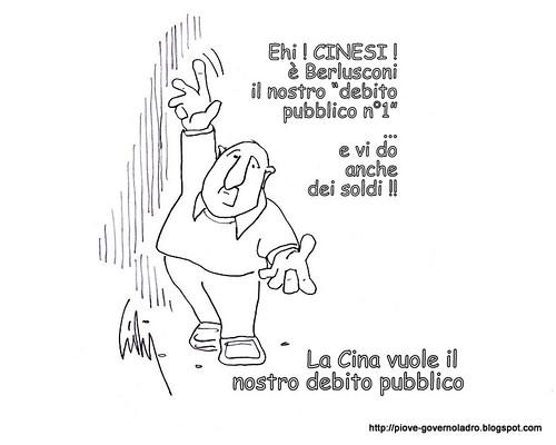 """La Cina vuole comprare il """"nostro debito pubblico"""" by Livio Bonino"""