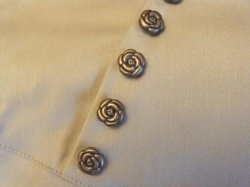 Classical Rose Skirt Detail