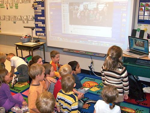 First Grade Class Skypes