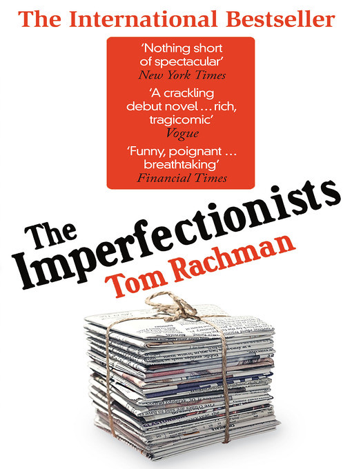 The Imperfectionists book cover