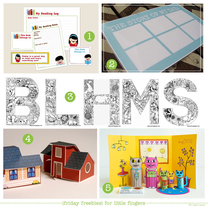 {friday freebies} for little fingers