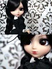 Isore | Pullip Bloody Red Hood Custom (Zoo*) Tags: white black macro doll noir tresse cancan pullip custom browneyes blanc brune custo brh blackwig isore cancanwig rewigged sticaoutfit reshipped d3100 bloodyredhood
