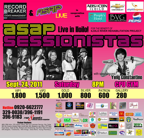 Contest: Win Tickets to ASAP Sessionistas Live in Iloilo