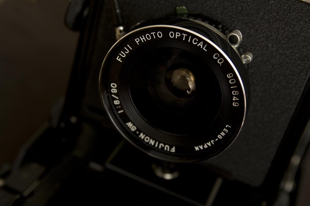 Camera Porn - Fujinon 90mm f/8.0 SW