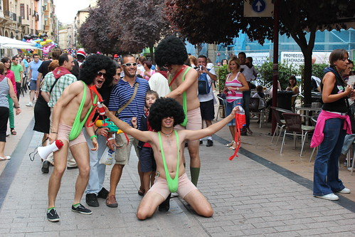 Borat en Logroño San Mateo 2011