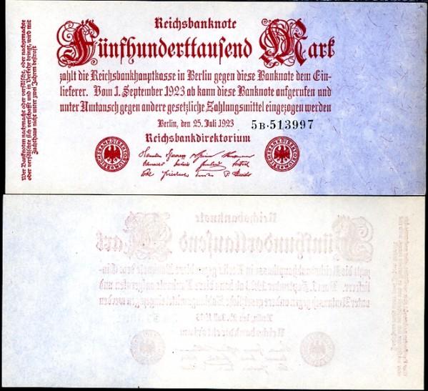 500 000 Mariek Nemecko 1923, Pick 92