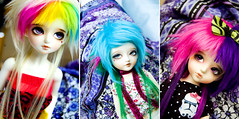 WIG DUMP (Frappzilla) Tags: doll lj junior bjd abjd kio customhouse furwig littlejunior yeondu aidolls darea