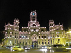 cibeles por la noche (danielnanreik) Tags: world madrid blue sleeping white mountain black color roma tree castle church beauty architecture river de real spain catholic view cathedral roman stadium soccer military south muslim disney seville andalucia aqueduct spanish toledo seats segovia alhambra granada universidad alcazar vista moor academy futbol fortress ronaldo alcala bernabeau medievial hernares